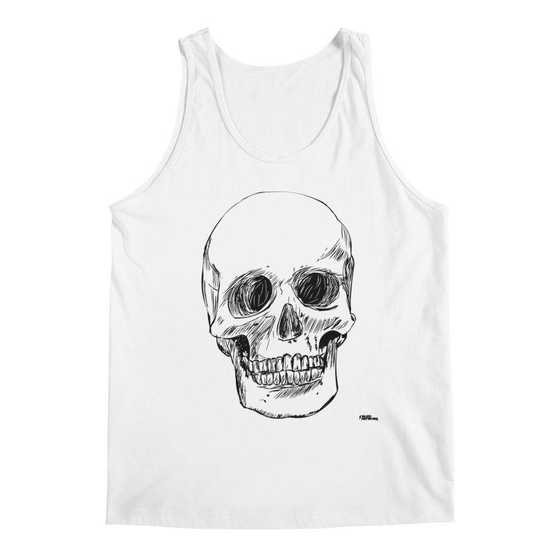 A Simple Skull Men's Tank by ROCK ARTWORK | T-shirts & apparels
