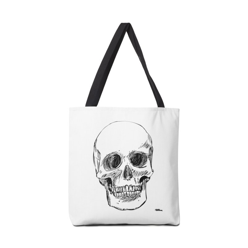 A Simple Skull Accessories Tote Bag Bag by ROCK ARTWORK | T-shirts & apparels