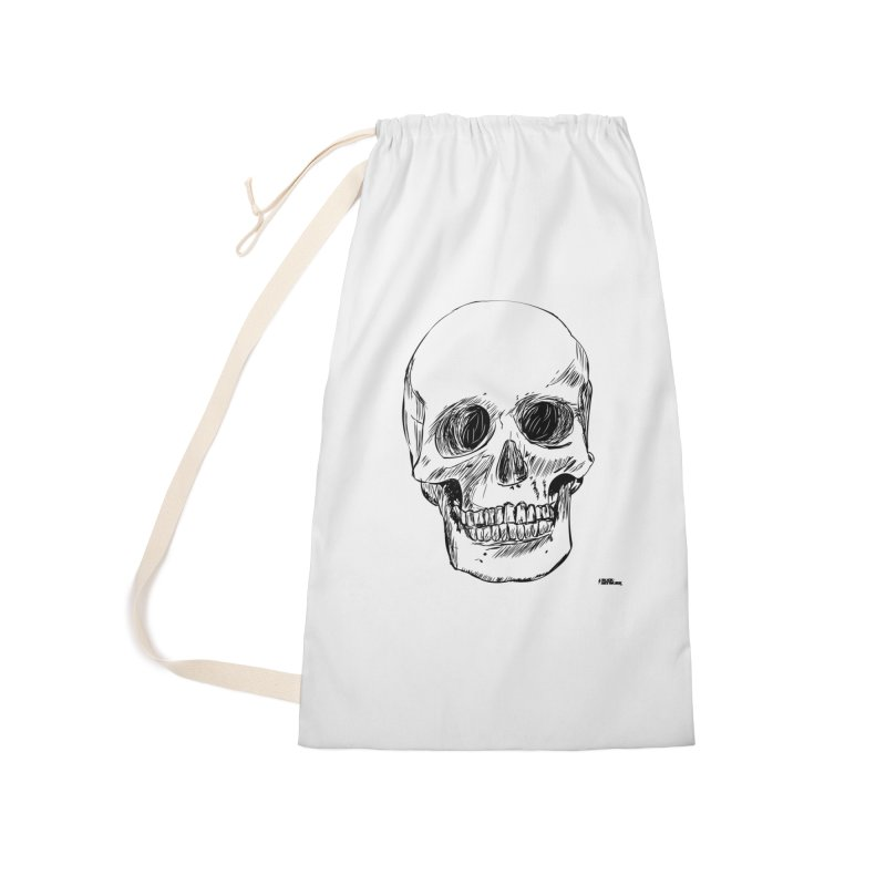 A Simple Skull Accessories Laundry Bag Bag by ROCK ARTWORK | T-shirts & apparels