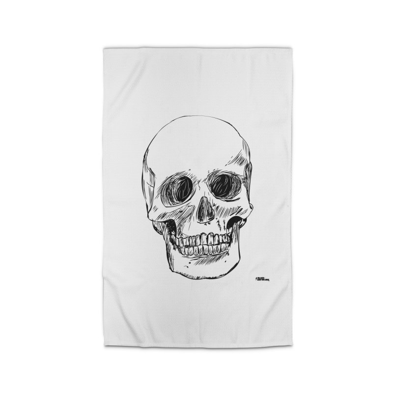A Simple Skull Home Rug by ROCK ARTWORK | T-shirts & apparels