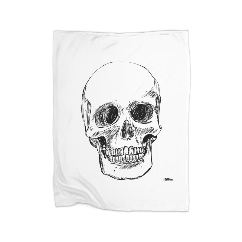 A Simple Skull Home Blanket by ROCK ARTWORK | T-shirts & apparels