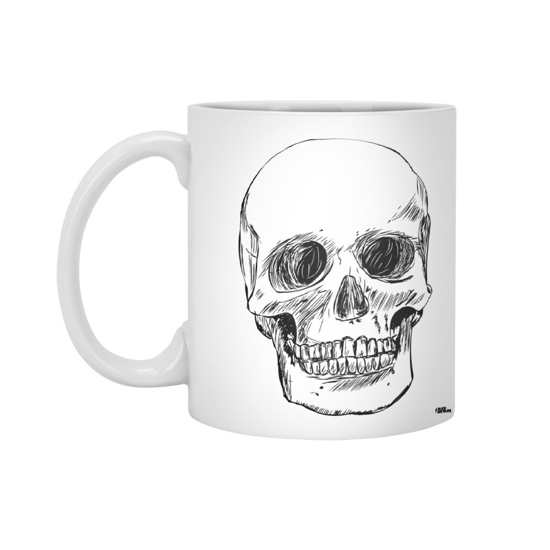 A Simple Skull Accessories Mug by ROCK ARTWORK | T-shirts & apparels