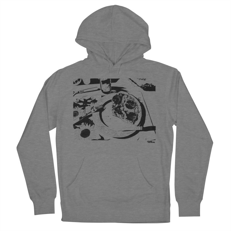 PIZZA TIME Men's French Terry Pullover Hoody by ROCK ARTWORK | T-shirts & apparels