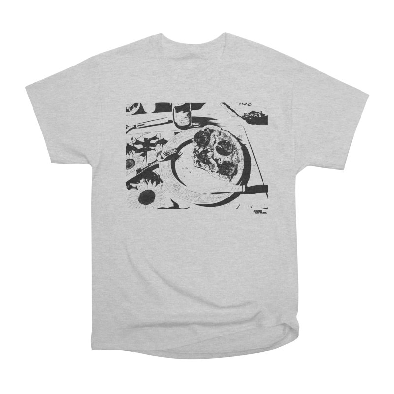 PIZZA TIME Men's Heavyweight T-Shirt by ROCK ARTWORK | T-shirts & apparels