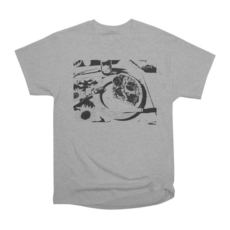 PIZZA TIME Men's Heavyweight T-Shirt by ROCK ARTWORK   T-shirts & apparels