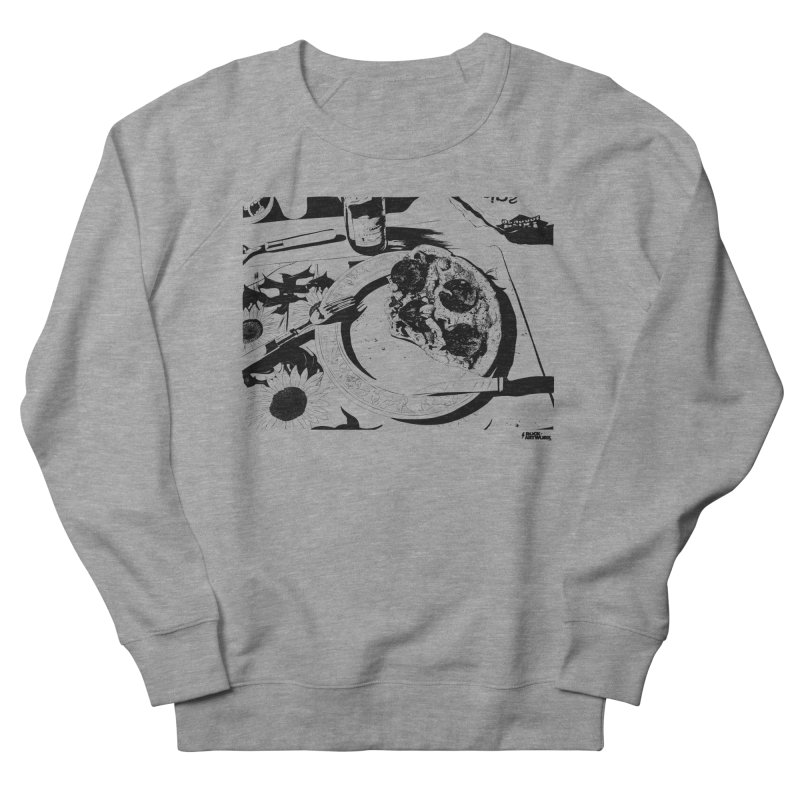 PIZZA TIME Men's French Terry Sweatshirt by ROCK ARTWORK | T-shirts & apparels