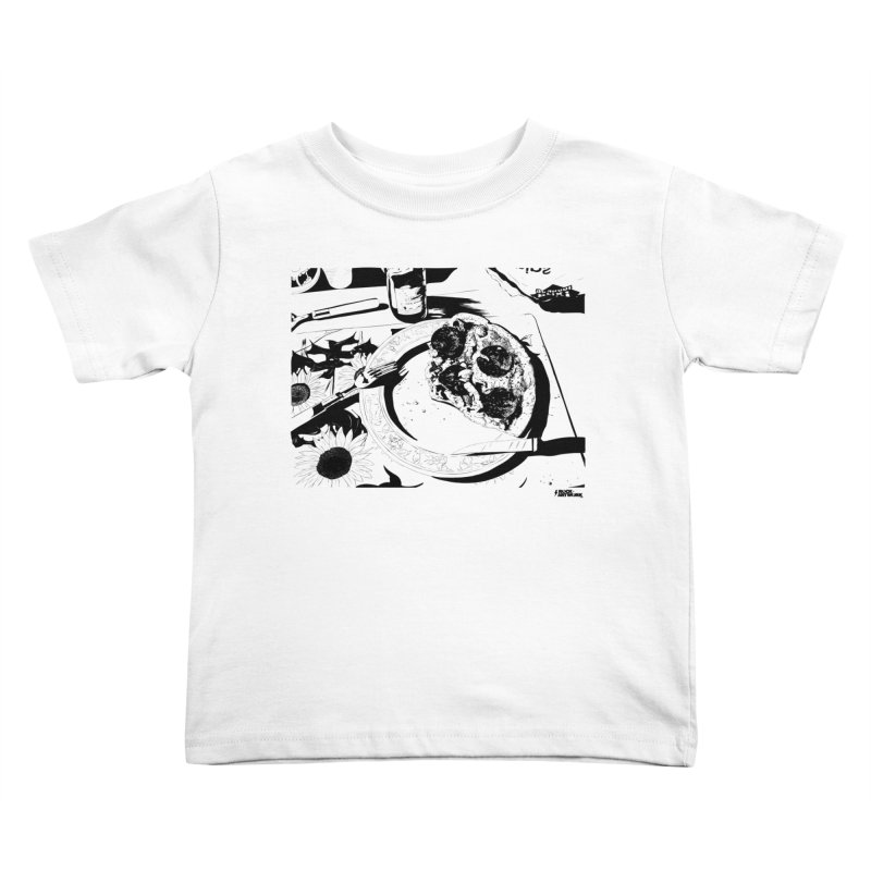 PIZZA TIME Kids Toddler T-Shirt by ROCK ARTWORK | T-shirts & apparels