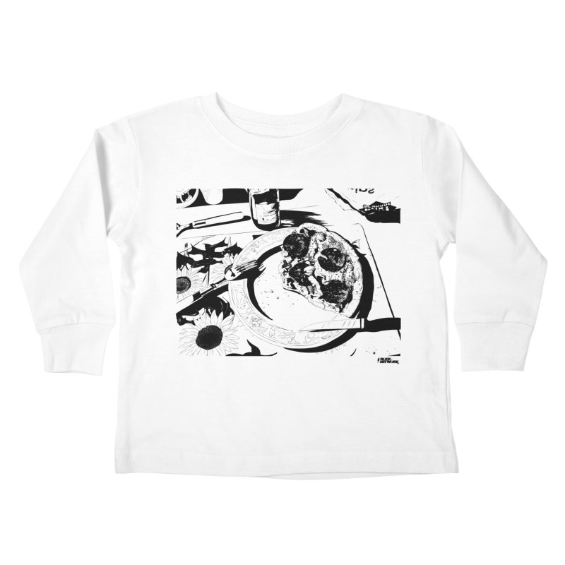 PIZZA TIME Kids Toddler Longsleeve T-Shirt by ROCK ARTWORK | T-shirts & apparels