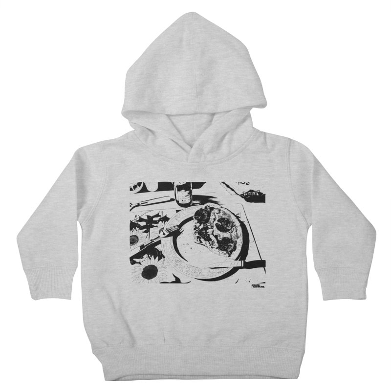 PIZZA TIME Kids Toddler Pullover Hoody by ROCK ARTWORK | T-shirts & apparels