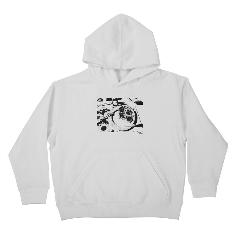 PIZZA TIME Kids Pullover Hoody by ROCK ARTWORK | T-shirts & apparels