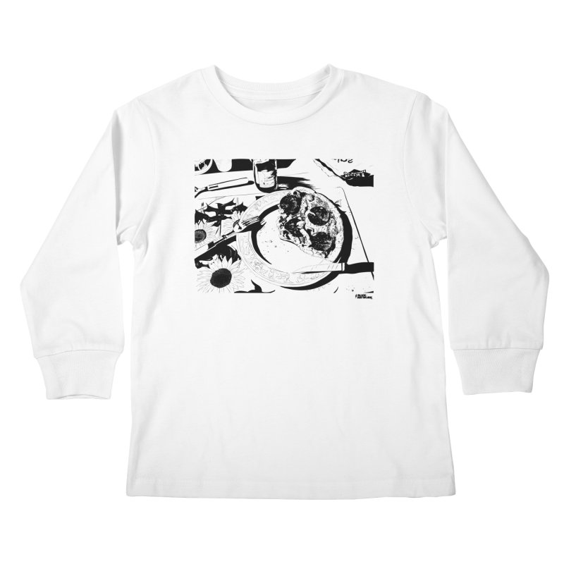 PIZZA TIME Kids Longsleeve T-Shirt by ROCK ARTWORK | T-shirts & apparels