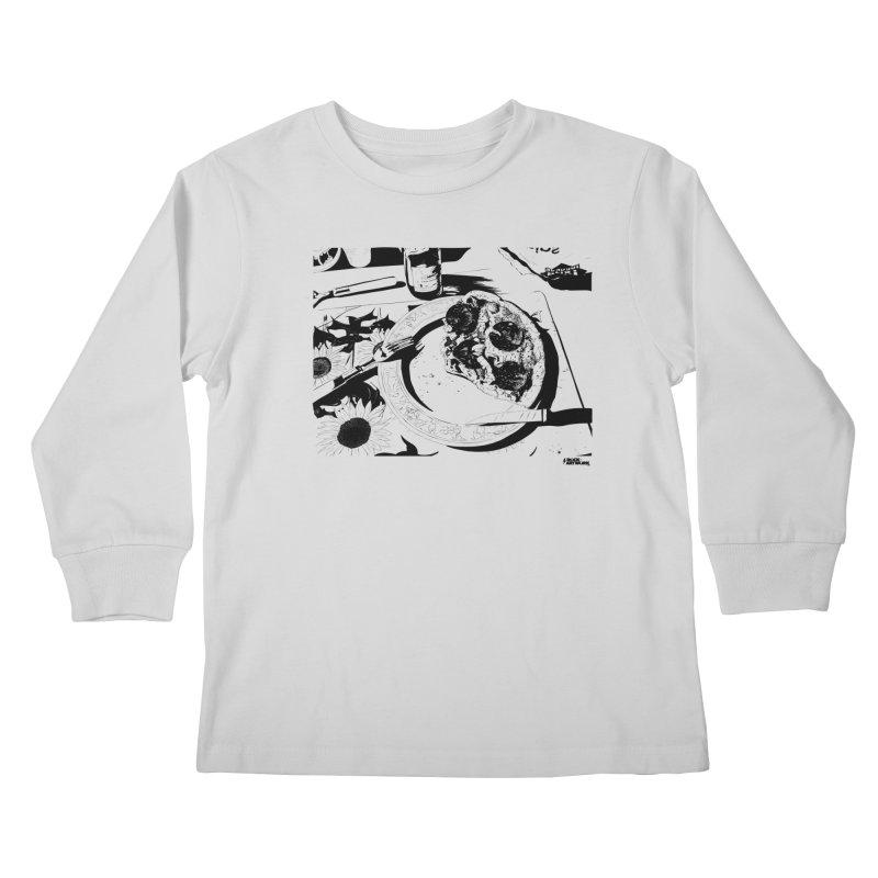 PIZZA TIME Kids Longsleeve T-Shirt by ROCK ARTWORK   T-shirts & apparels