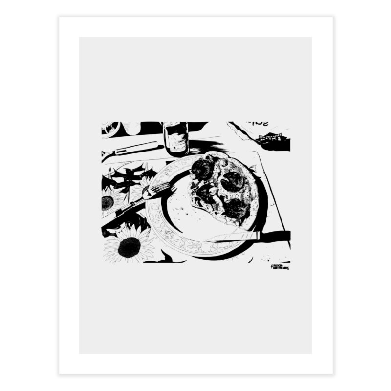 PIZZA TIME Home Fine Art Print by ROCK ARTWORK | T-shirts & apparels