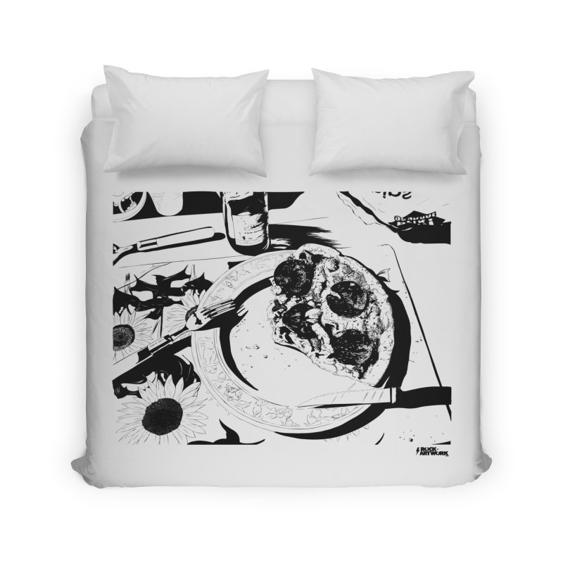 PIZZA TIME Home Duvet by ROCK ARTWORK | T-shirts & apparels