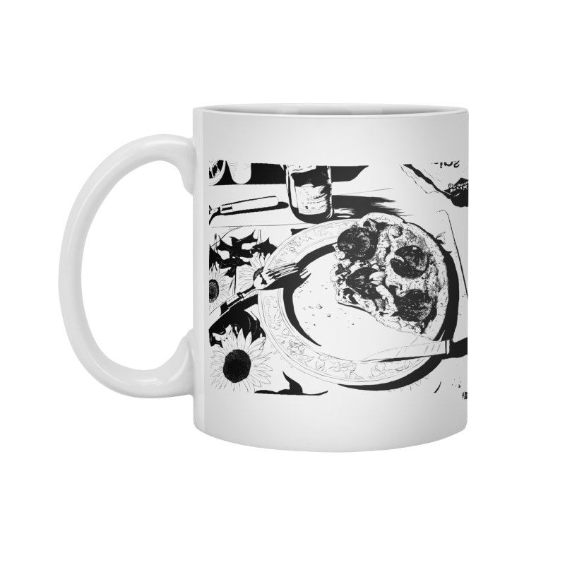 PIZZA TIME Accessories Mug by ROCK ARTWORK | T-shirts & apparels