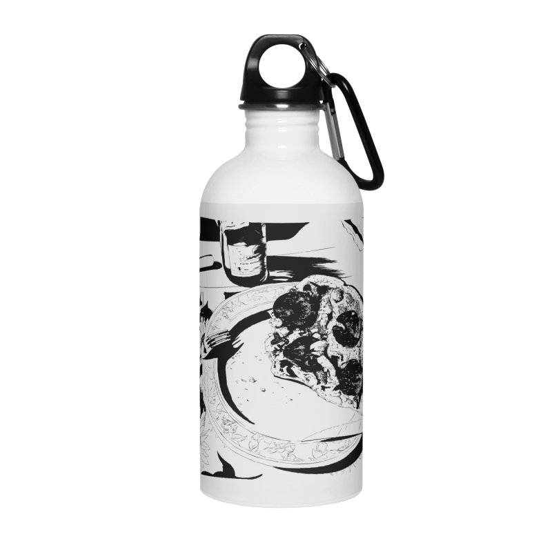 PIZZA TIME Accessories Water Bottle by ROCK ARTWORK | T-shirts & apparels