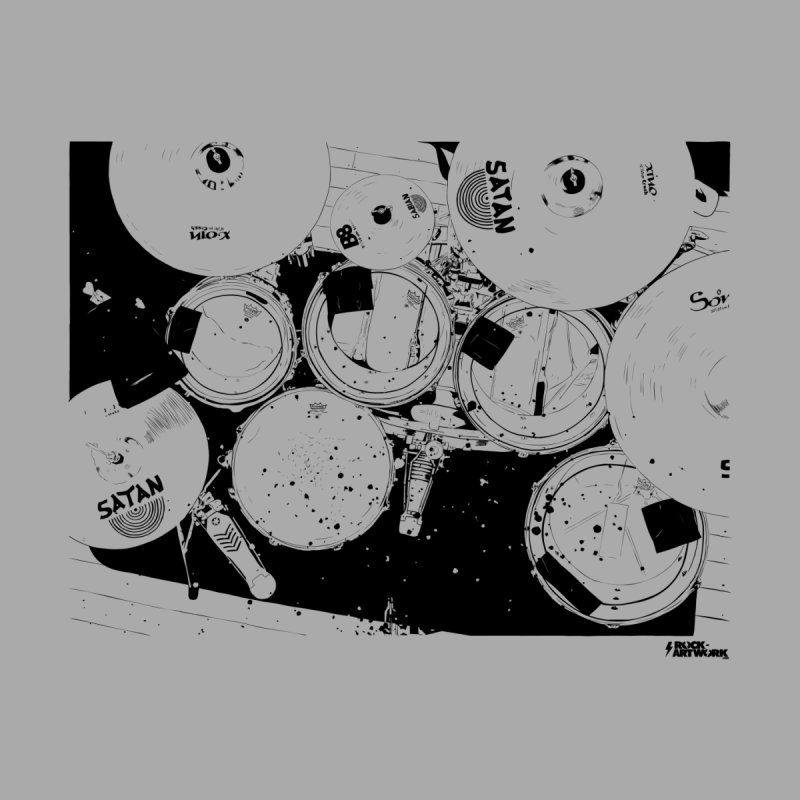drums Home Fine Art Print by ROCK ARTWORK | T-shirts & apparels