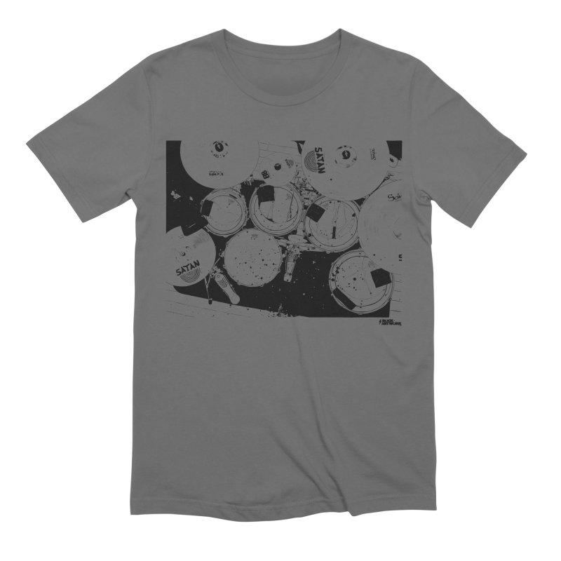 drums Men's Extra Soft T-Shirt by ROCK ARTWORK | T-shirts & apparels