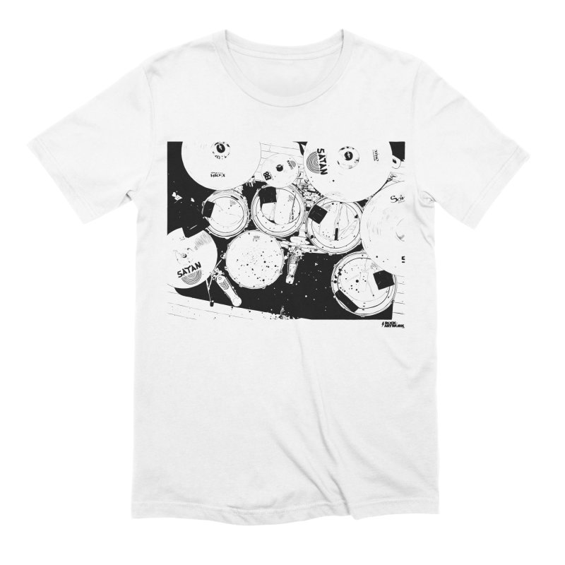 drums Men's T-Shirt by ROCK ARTWORK | T-shirts & apparels