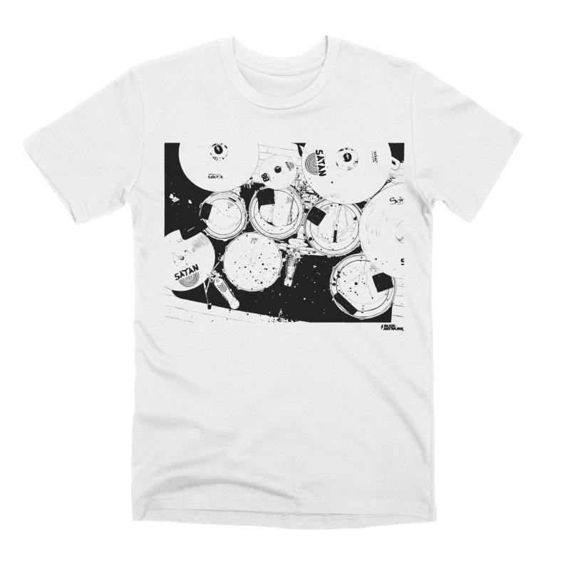 drums Men's Premium T-Shirt by ROCK ARTWORK | T-shirts & apparels