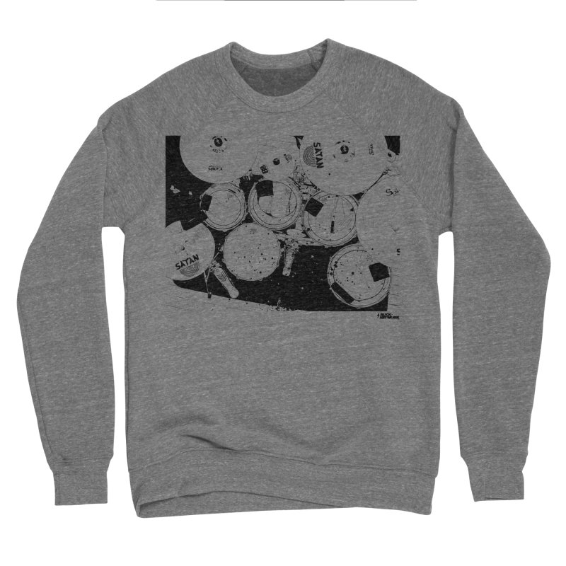 drums Men's Sponge Fleece Sweatshirt by ROCK ARTWORK | T-shirts & apparels
