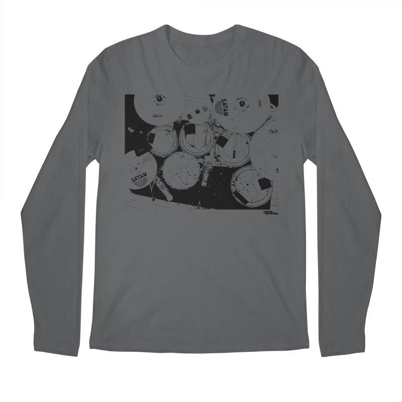 drums Men's Longsleeve T-Shirt by ROCK ARTWORK | T-shirts & apparels