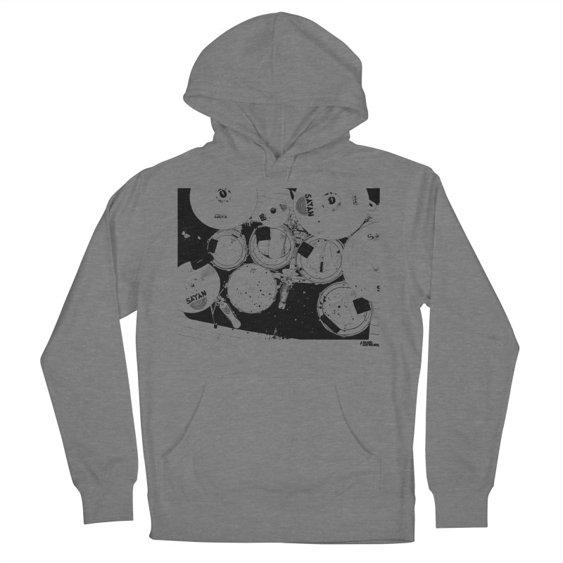 drums Women's Pullover Hoody by ROCK ARTWORK | T-shirts & apparels