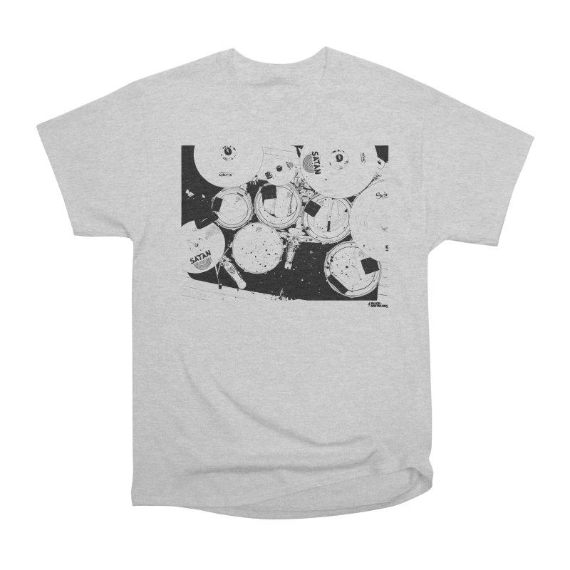 drums Men's Heavyweight T-Shirt by ROCK ARTWORK | T-shirts & apparels
