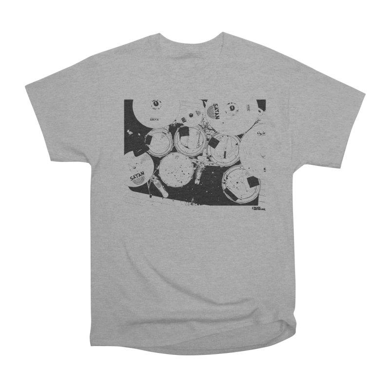 drums Men's Classic T-Shirt by ROCK ARTWORK | T-shirts & apparels