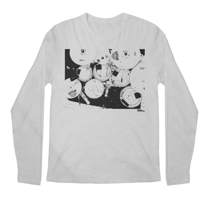 drums Men's Regular Longsleeve T-Shirt by ROCK ARTWORK | T-shirts & apparels