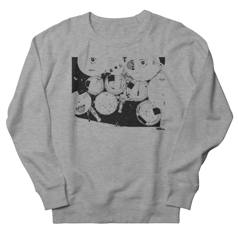 drums Women's French Terry Sweatshirt by ROCK ARTWORK | T-shirts & apparels