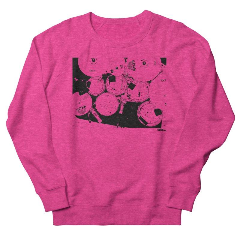 drums Women's Sweatshirt by ROCK ARTWORK   T-shirts & apparels