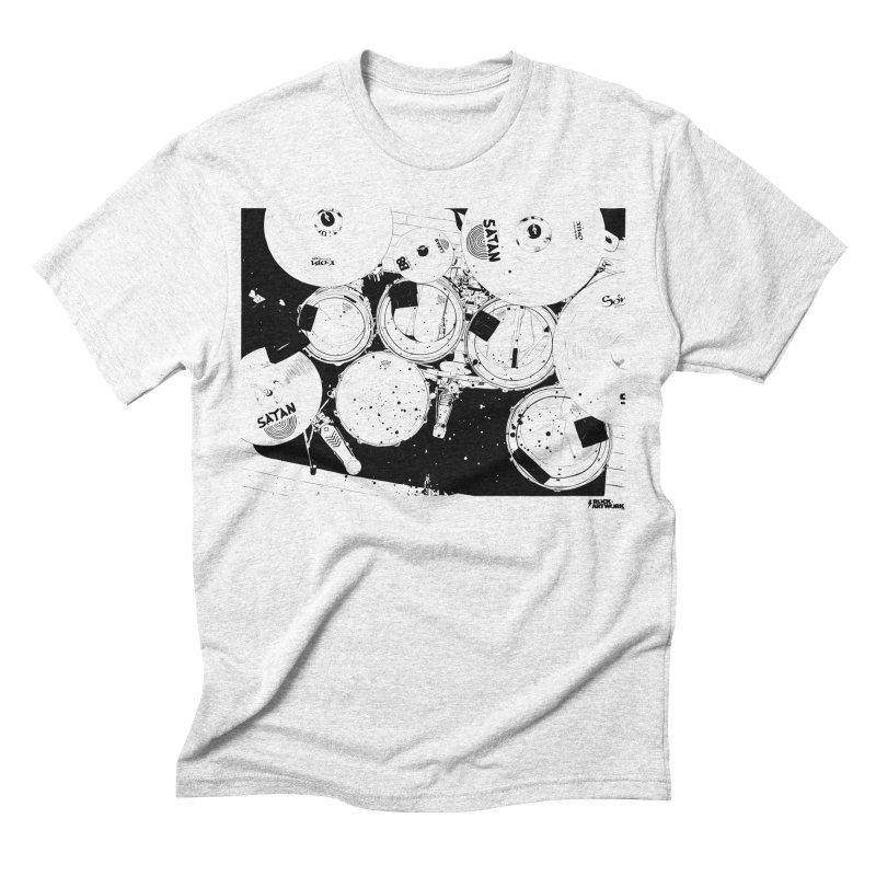 drums Men's Triblend T-shirt by ROCK ARTWORK | T-shirts & apparels