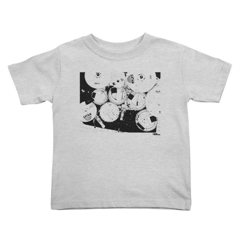 drums Kids Toddler T-Shirt by ROCK ARTWORK | T-shirts & apparels