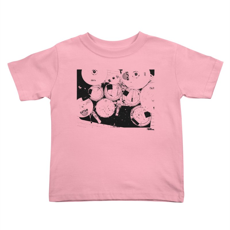 drums Kids Toddler T-Shirt by ROCK ARTWORK | T-shirts & apparels