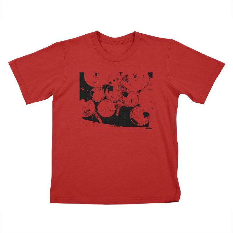 drums Kids T-shirt by ROCK ARTWORK | T-shirts & apparels