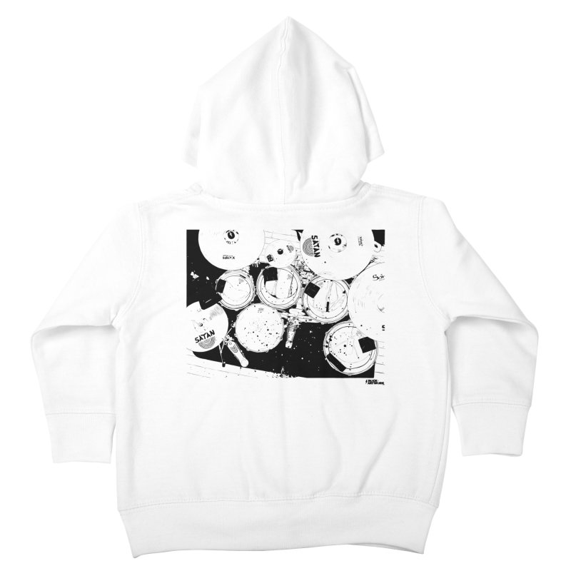 drums Kids Toddler Zip-Up Hoody by ROCK ARTWORK | T-shirts & apparels