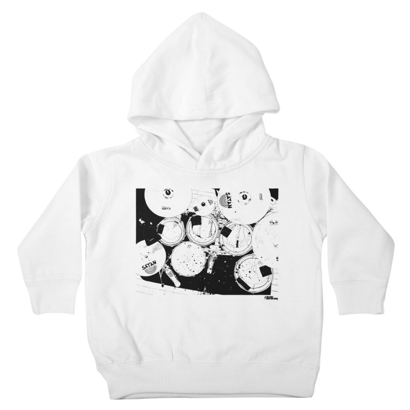 drums Kids Toddler Pullover Hoody by ROCK ARTWORK | T-shirts & apparels