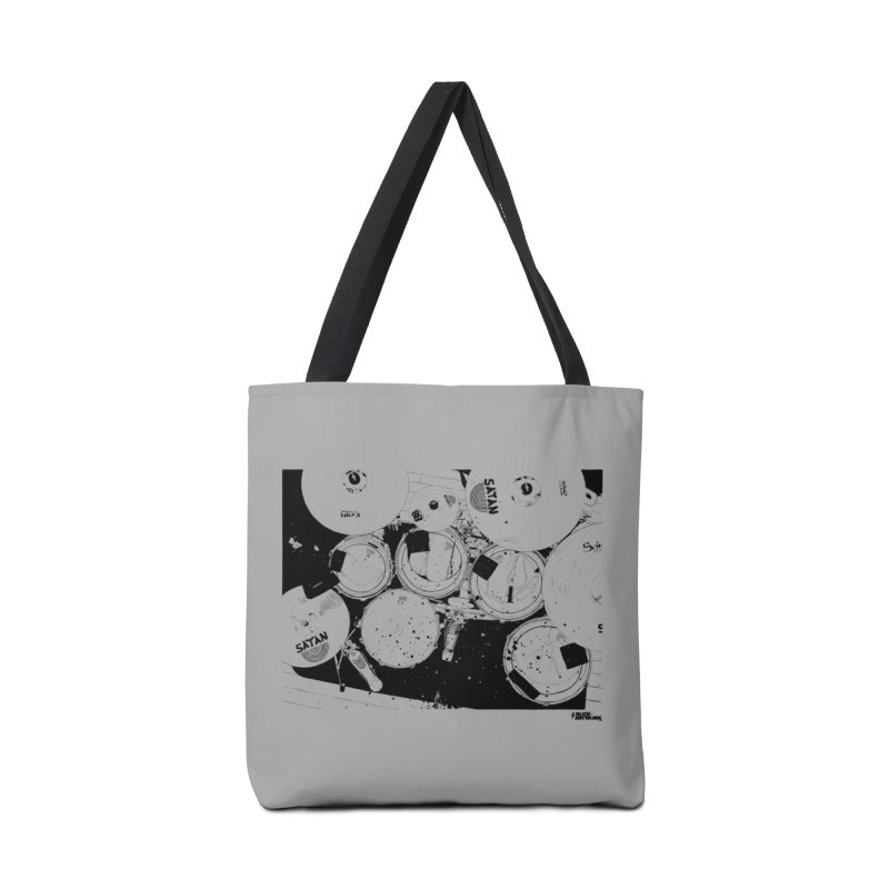 drums Accessories Tote Bag Bag by ROCK ARTWORK | T-shirts & apparels