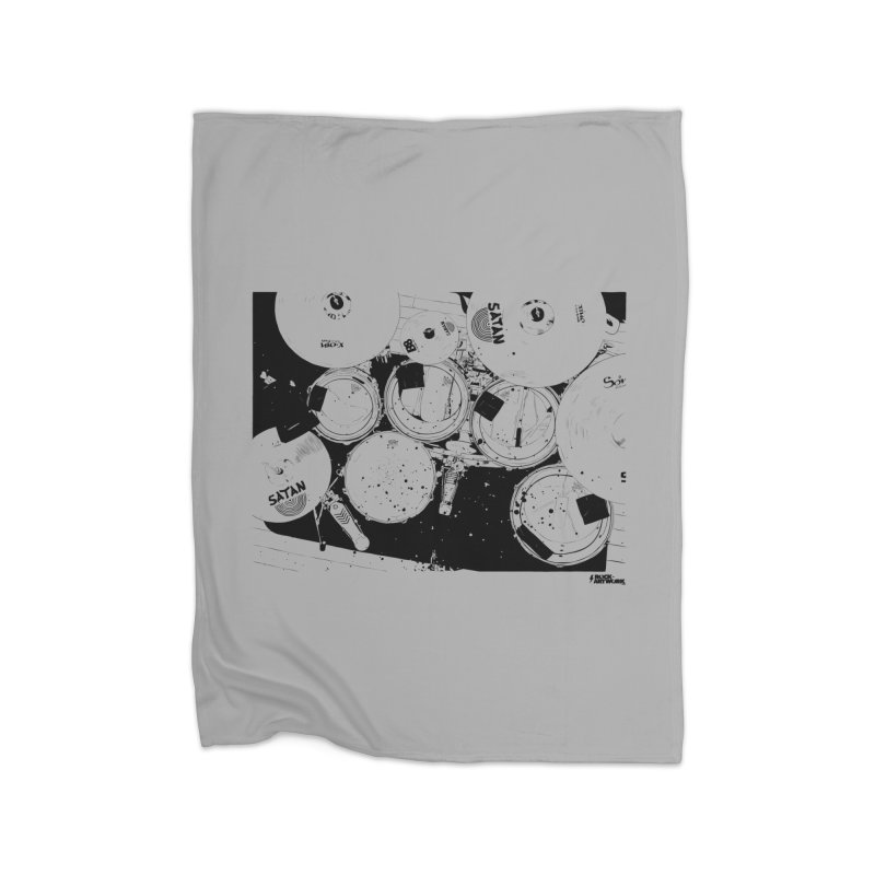 drums Home Blanket by ROCK ARTWORK | T-shirts & apparels