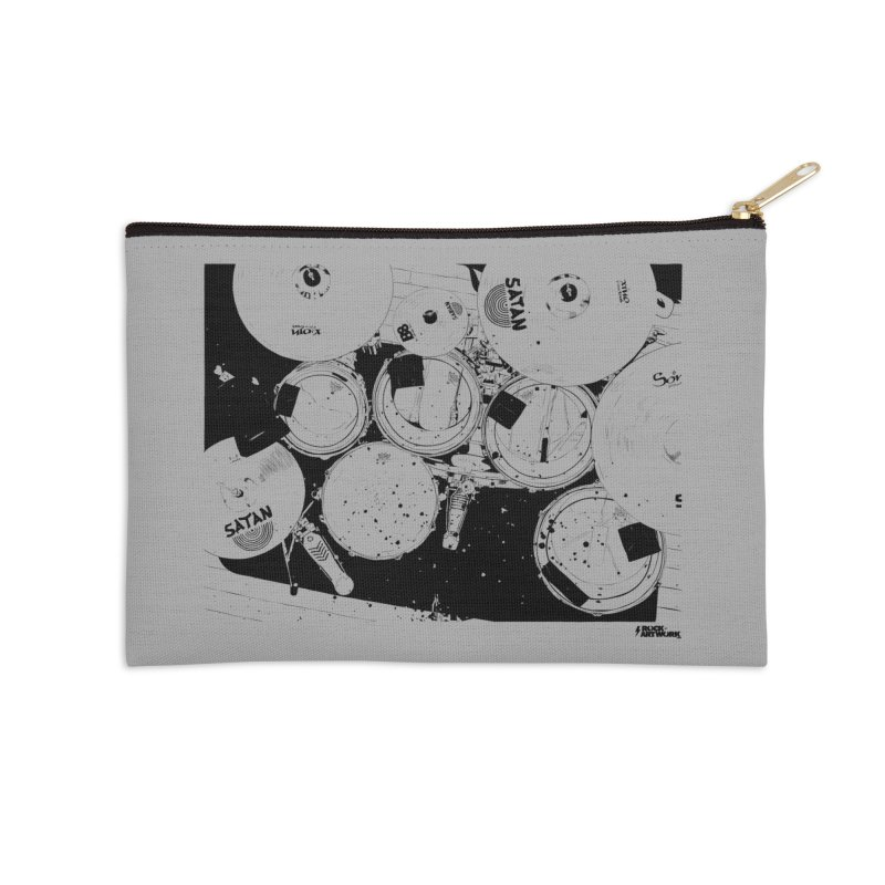 drums Accessories Zip Pouch by ROCK ARTWORK | T-shirts & apparels