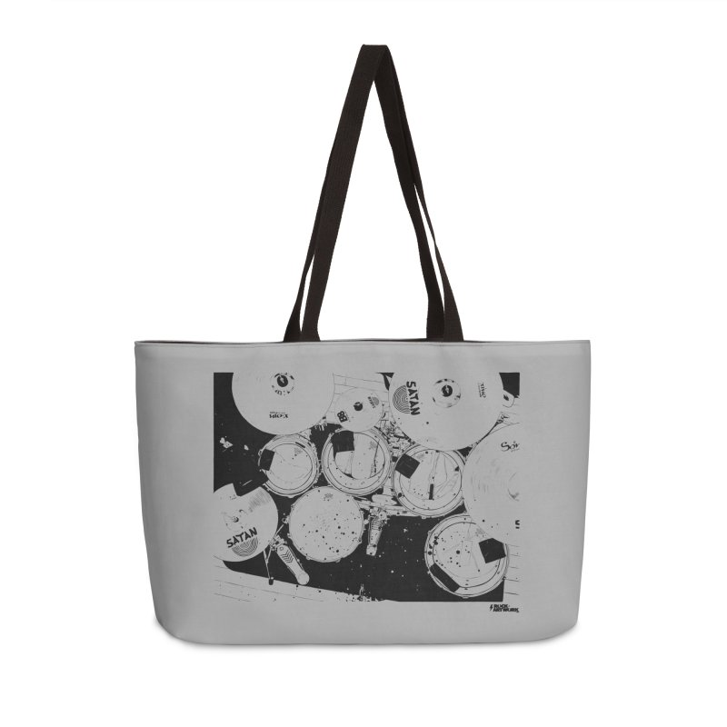 drums Accessories Weekender Bag Bag by ROCK ARTWORK | T-shirts & apparels