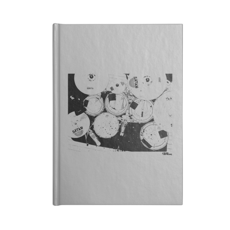 drums Accessories Notebook by ROCK ARTWORK | T-shirts & apparels