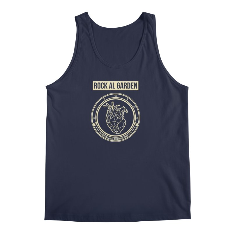 MEN TANK TOP in Men's Regular Tank Navy by Rock Al Garden