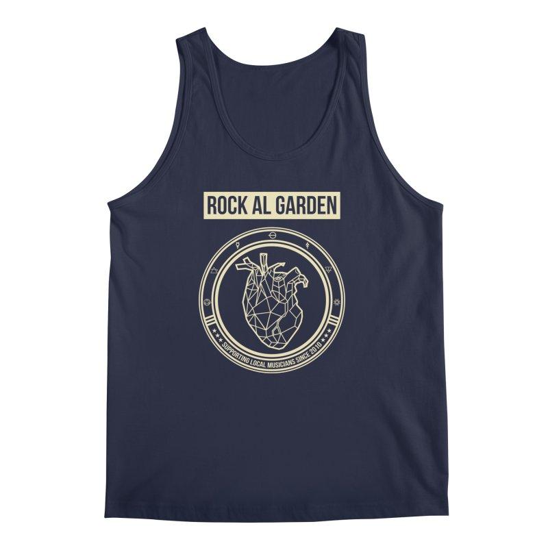 MEN TANK TOP Men's Regular Tank by Rock Al Garden