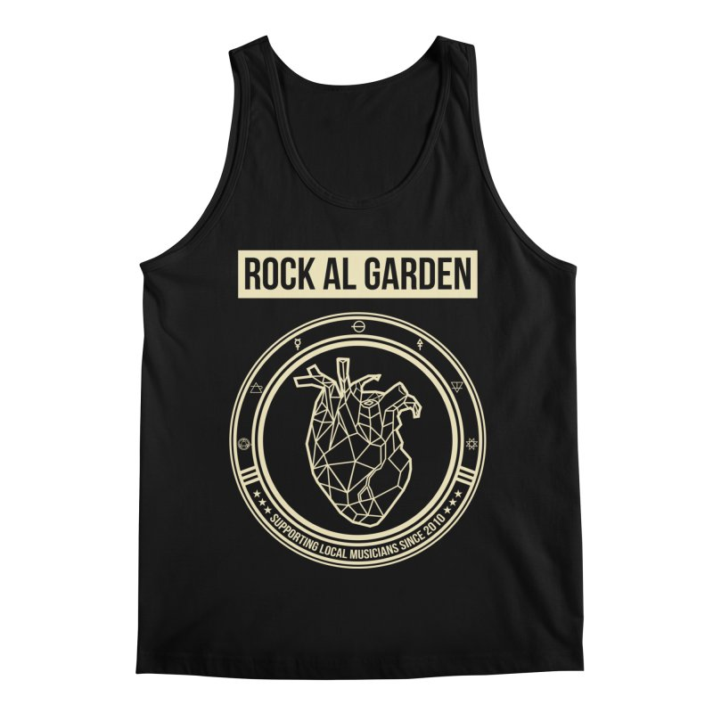MEN TANK TOP Men's Regular Tank by Rock Al Garden