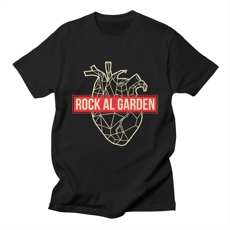 RAG MEN T-SHIRT in Men's Regular T-Shirt Black by Rock Al Garden
