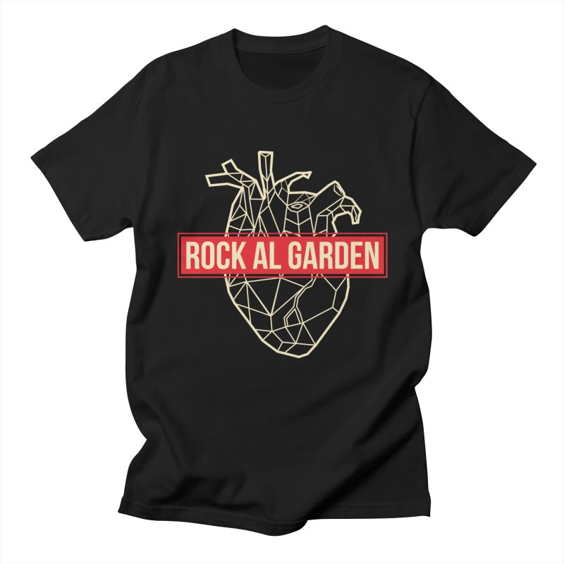 RAG MEN T-SHIRT Men's T-Shirt by Rock Al Garden
