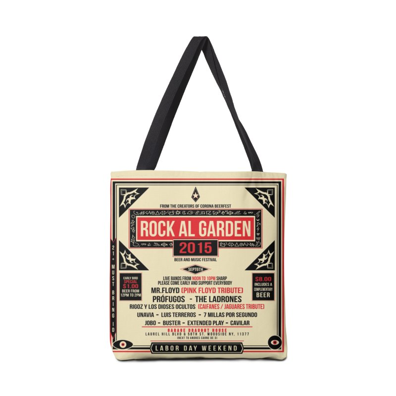 COMMEMORATIVE VINYL TOTE BAG RAG 15 Accessories Bag by Rock Al Garden