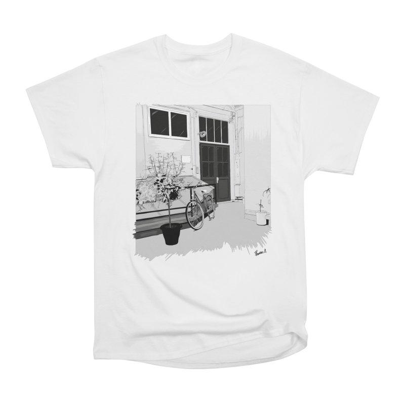 cour interieur Men's T-Shirt by ROCK ARTWORK | T-shirts & apparels